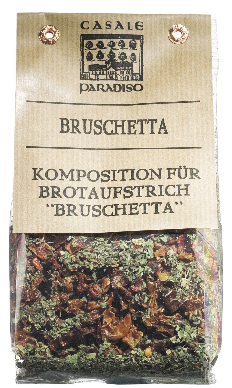 Bruschetta Gewürzmischung - Komposition für Brotaufstrich 100g - Casale Paradiso