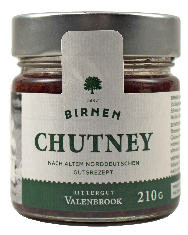 Chutney - Birnen Chutney 210g - Rittergut Valenbrook