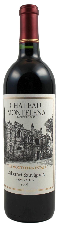 2001er Cabernet Sauvignon Estate - Calistoga Napa Valley - Chateau Montelena  0,75 l