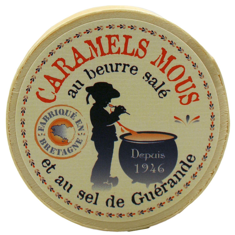 Caramels au Beurre sale - et au Sel de Guerande 50g - Paris Caramels, Frankreich