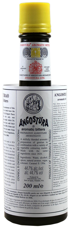 Angostura Bitter Original - Trinidad & Tobago - 44,7%  Vol.  0,20 l