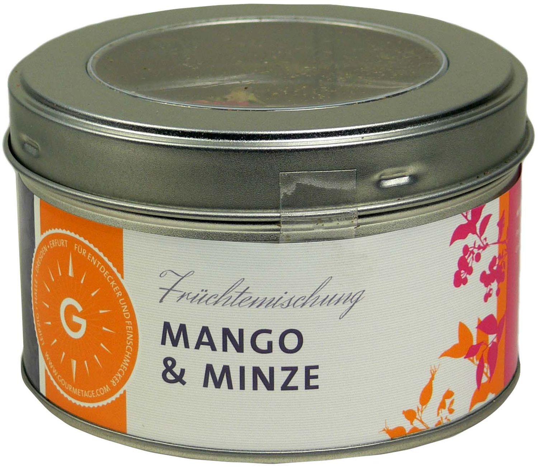 Mango & Minze - Früchteteemischung 100g - Gourmetage Finest Selection