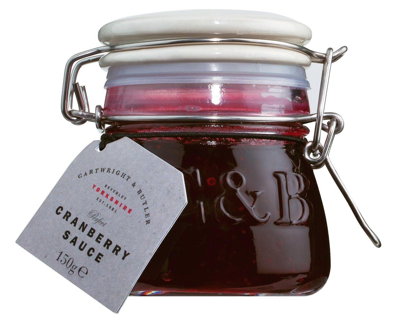 Cranberry Sauce - Cranberrysauce 140g - Cartwright & Butler, East Yorkshire