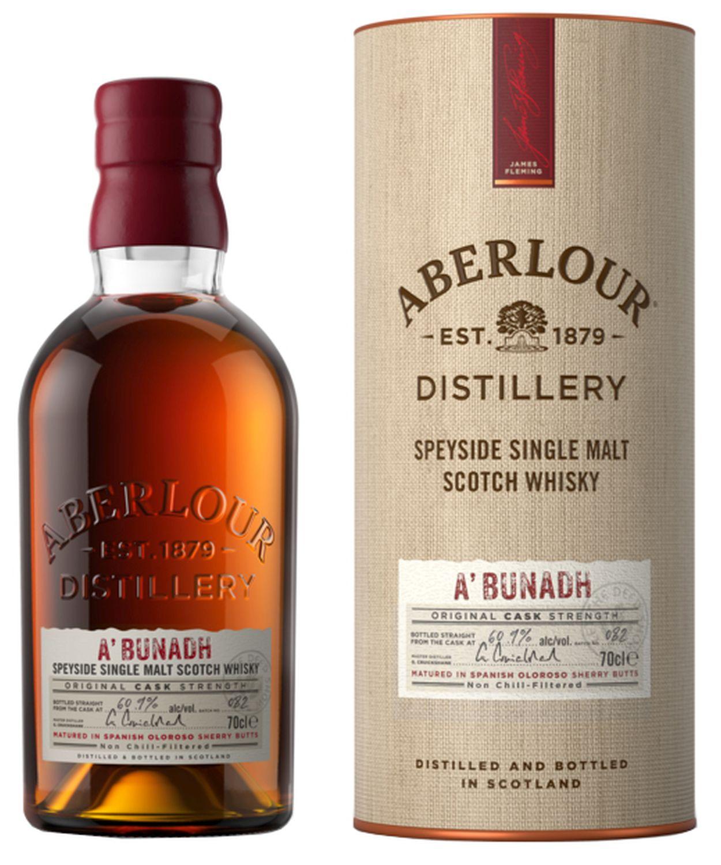 Aberlour Abunadh - Single Highland Malt - 59,5% Vol.  0,70 l