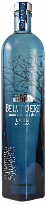 Belvedere Bartezek Vodka - Single Estate Rye - 40% Vol. 0,70 l