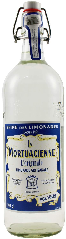 La Mortuacienne - Limonade Natur 1,0 l - Rieme Boissons, Frankreich