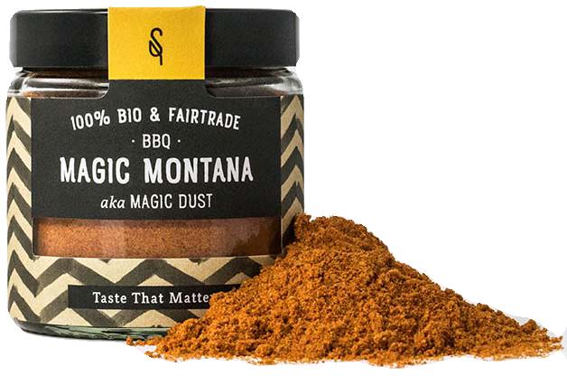 BBQ Magic Montana - Bio Grillgewürz 65g - SoulSpice