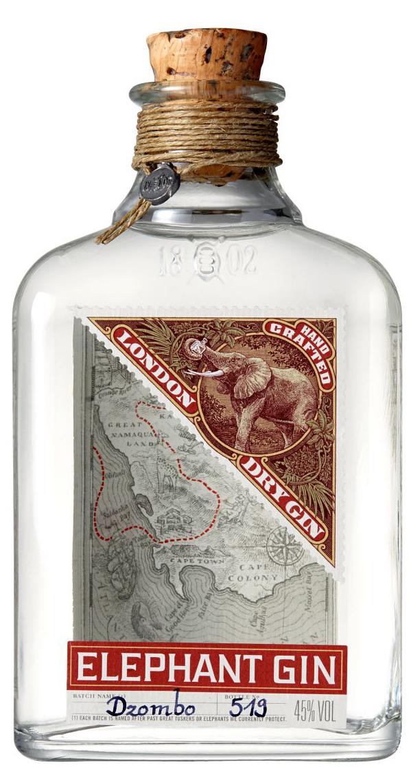Elephant London Dry Gin - Deutschland - 45% Vol. 0,50 l