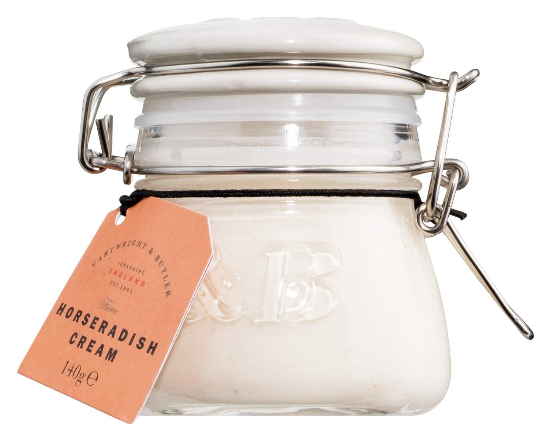Horseradish Cream - Meerrettichsauce 140g - Cartwright & Butler, East Yorkshire