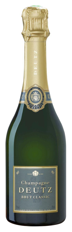 Champagner Deutz - Brut Classic - Demi Bouteille 0,375 l