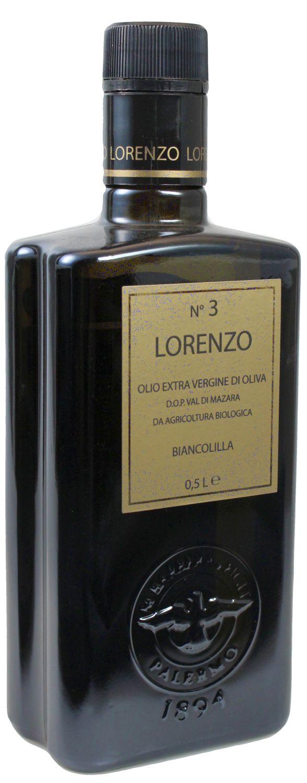 Lorenzo Numero 3 Barbera - Olio Extra Vergine - di Oliva Biancolilla 500ml