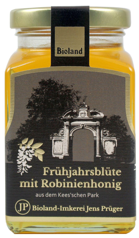 Honig Frühlingsblüte mit Robinie - Imkerei Jens Prüger 330g - Honig aus dem Keesschen Park