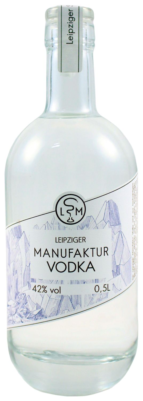 Leipziger Manufaktur Vodka - 42% Vol.  0,50 l - Leipziger Spirituosen Manufaktur