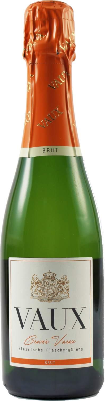 Cuvee Vaux Brut - Klassische Flaschengärung 0,375 l - Schloss Vaux Sekt Manufaktur, Eltville