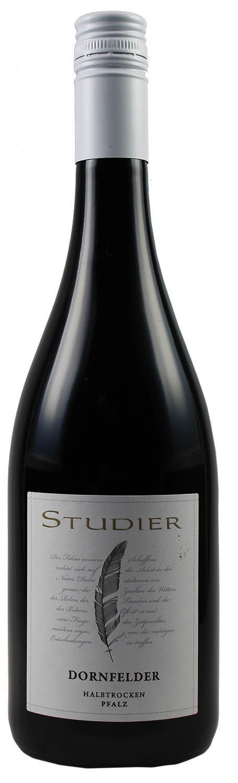 Dornfelder halbtrocken - Weingut Studier  0,75 l - Ellerstadt in der Pfalz