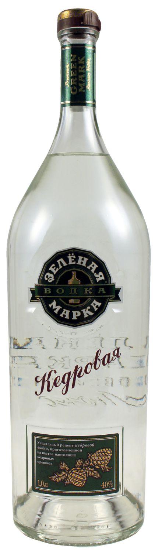 Green Mark Cedar Nut Vodka - 40% Vol.  1,00 l