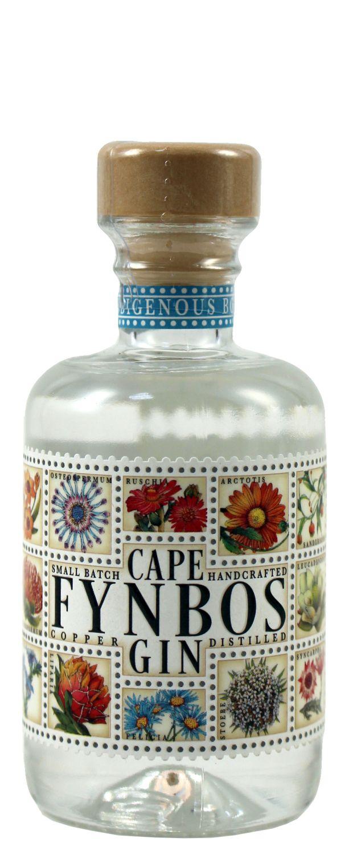 Cape Fynbos Dry Gin - 45% Vol.  0,04 l - Südafrika