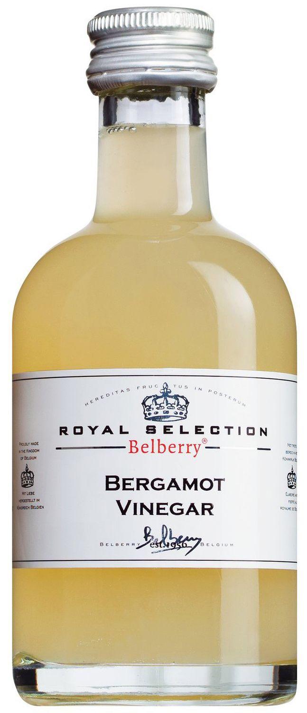 Bergamot Citrus Vinegar - Essig mit Bergamotte - 200 ml Belberry, Belgien