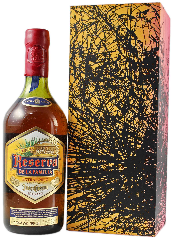 Tequila Cuervo Anejo - Reserva de la Familia - 38% Vol.  0,70 l