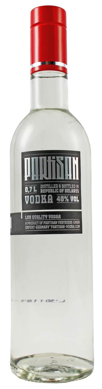 Partisan Wodka - 40% Vol.  0,70 l - Deutschland