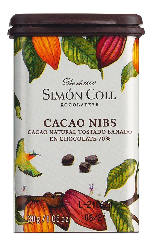 Cacao Nibs Origen Ghana - Simon Coll, Barcelona  30g