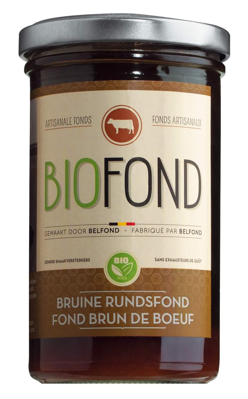 Fond Brun de Boeuf - dunkler Rinderfond 240ml - Belfonds, Belgien