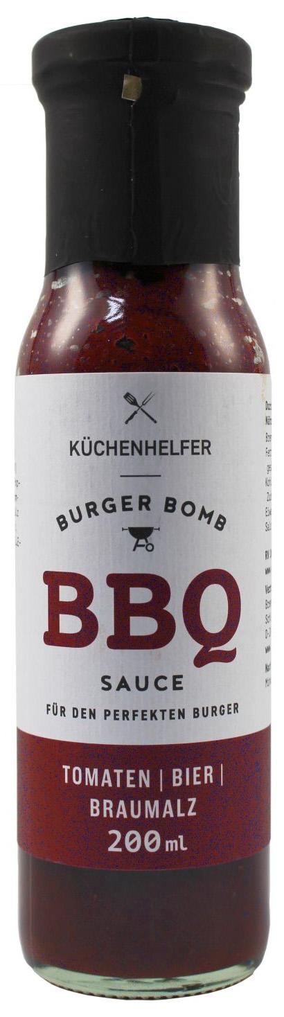 Burger Bomb BBQ Sauce - Bier Braumalz 200ml - Bremer Feinkost