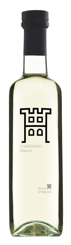 Balsamico Bianco Condimento - Weißer Balsamessig 500ml - Rocca di Vignola, Emilia Romagna