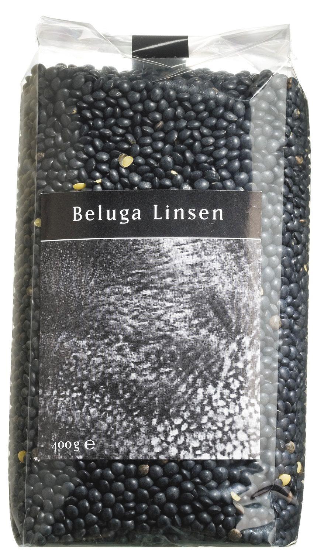 Beluga Linsen schwarz - Viani 400g