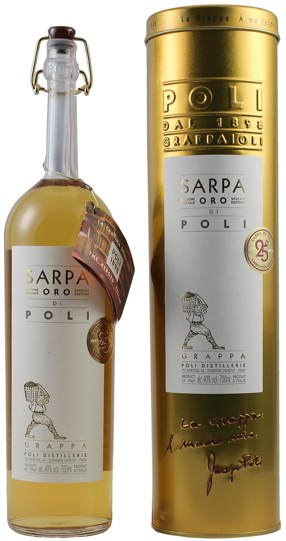 Grappa Sarpa - Barrique di Jacopo Poli - 40% Vol. 0,70 l