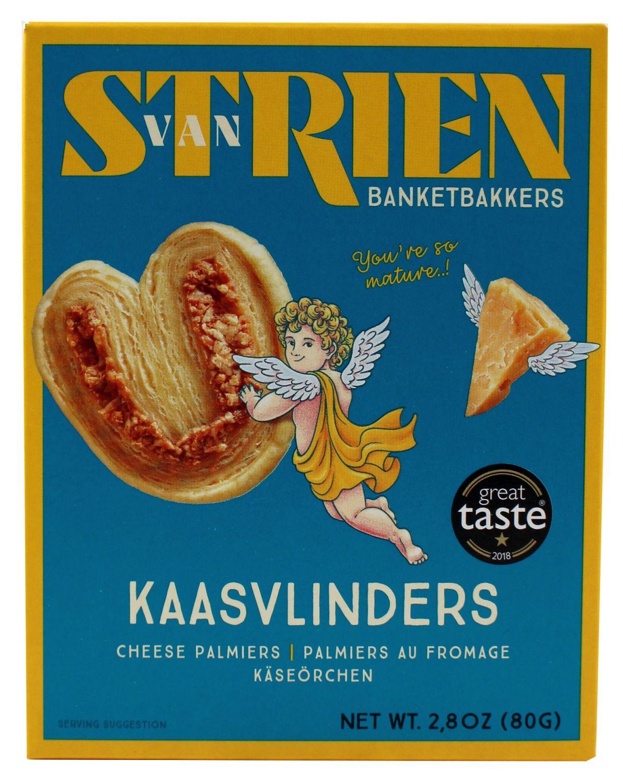 Butter Cheese Palmiers - Butter Käse Schmetterlinge - van Strien 80g, Niederlande
