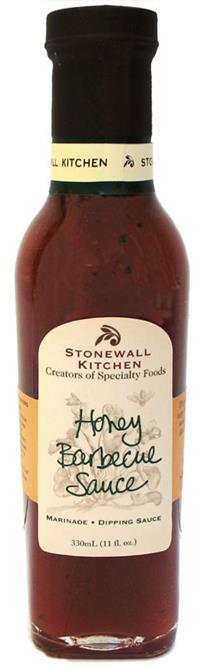 Honey Barbecue Sauce - BBQ-Sauce 330ml - Stonewall Kitchen, USA