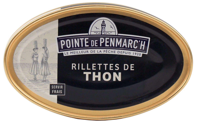 Thunfisch Rillettes - La Pointe de Penmarch 115g - Le Guilvinec, Bretagne