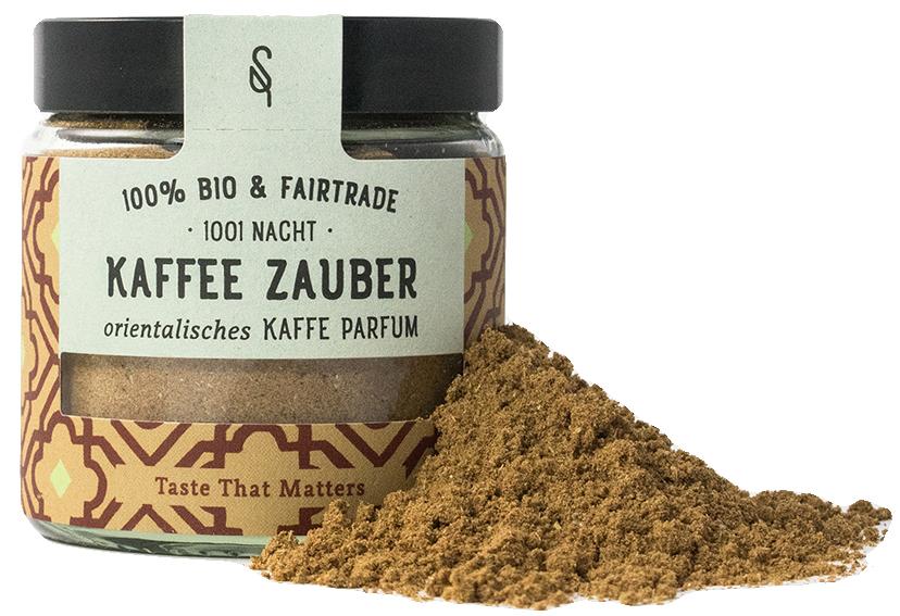 Kaffee Zauber - Arabische Bio Gewürzmischung 45g - SoulSpice