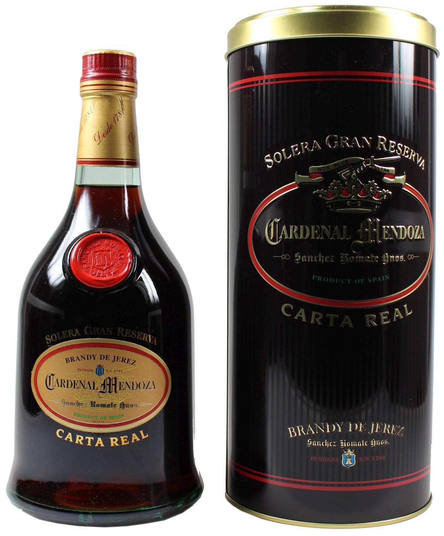Cardenal Mendoza Carta Real - Brandy Solera Gran Reserva - 40% 0,70 l