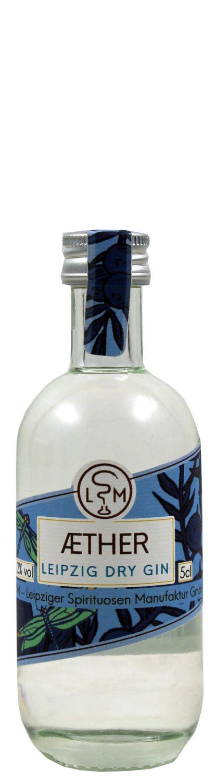 Aether Leipzig Dry Gin - 48,2% Vol  0,05 l - Leipziger Spirituosen Manufaktur