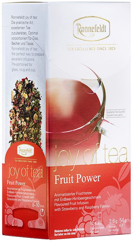 Fruit Power Joy of Tea - Früchtetee in Teebeuteln - Ronnefeldt  15 x 3,6g