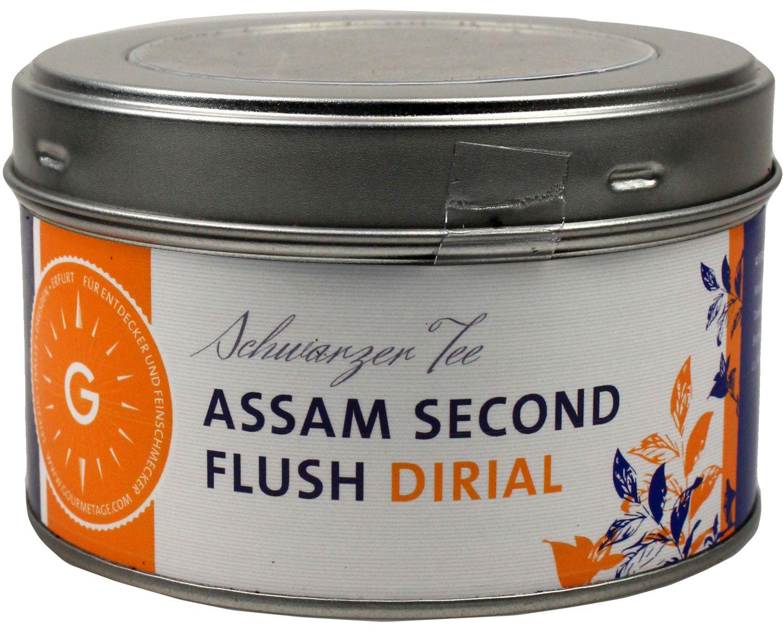 Assam second flush FTGFOPI Dirial - Schwarzer Tee 100g - Gourmetage Finest Selection
