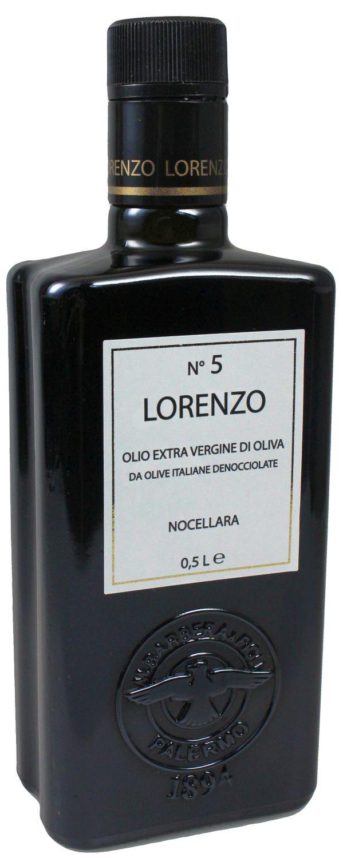 Lorenzo Numero 5 Barbera - Olio Extra Vergine - di Oliva Nocellara 500ml