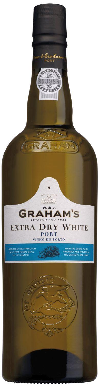 Grahams Extra Dry White Port - 19% Vol.  0,75 l
