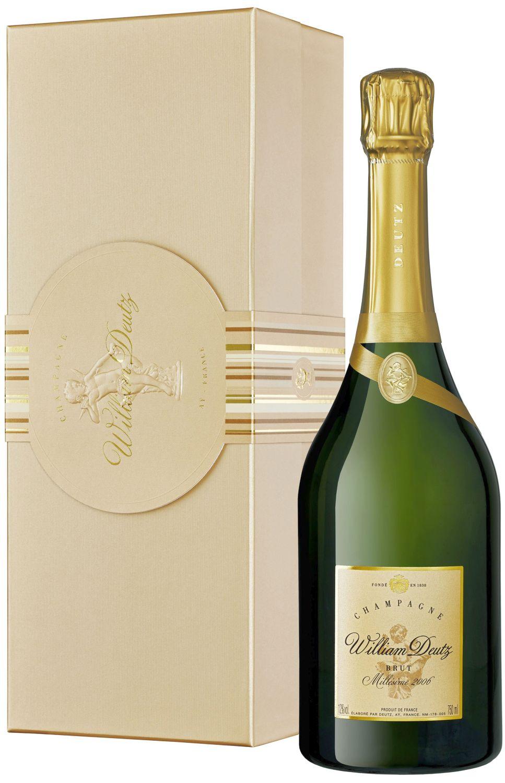 """Champagner Deutz - """"Cuvee William"""" Brut - 0,75 l"""