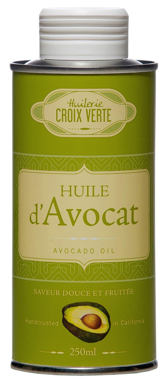 Avocadoöl Huile dAvocat - Huilerie Croix Verte 250ml - Saumur, Loire