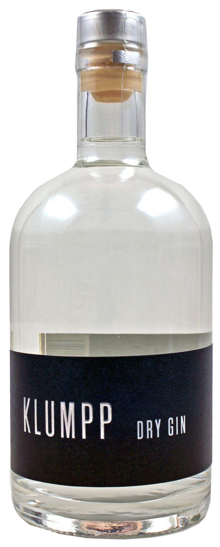 Klumpp Dry Gin - Weingut Klumpp, Kraichgau - 44% Vol.  0,50 l