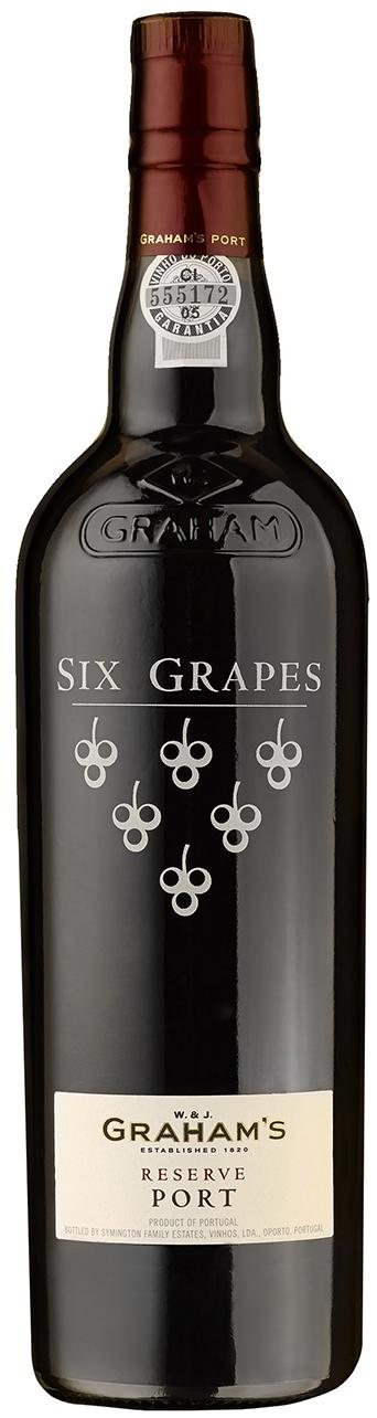 """Grahams - """"Six Grapes"""" Reserve Port - 20% Vol.  0,75 l"""