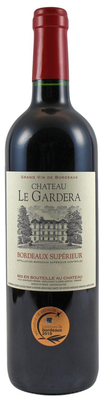 Chateau La Gardera - Bordeaux Superieur AC - 0,75 l