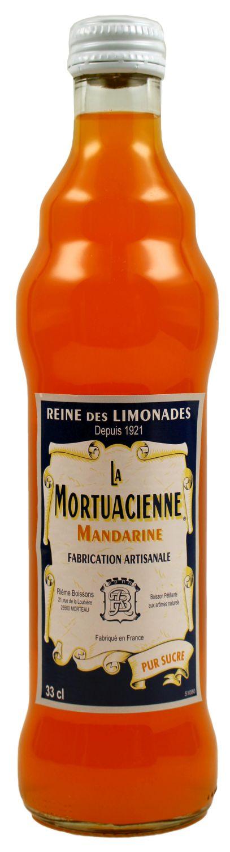 La Mortuacienne - Mandarinenlimonade  0,33 l - Rieme Boissons, Frankreich