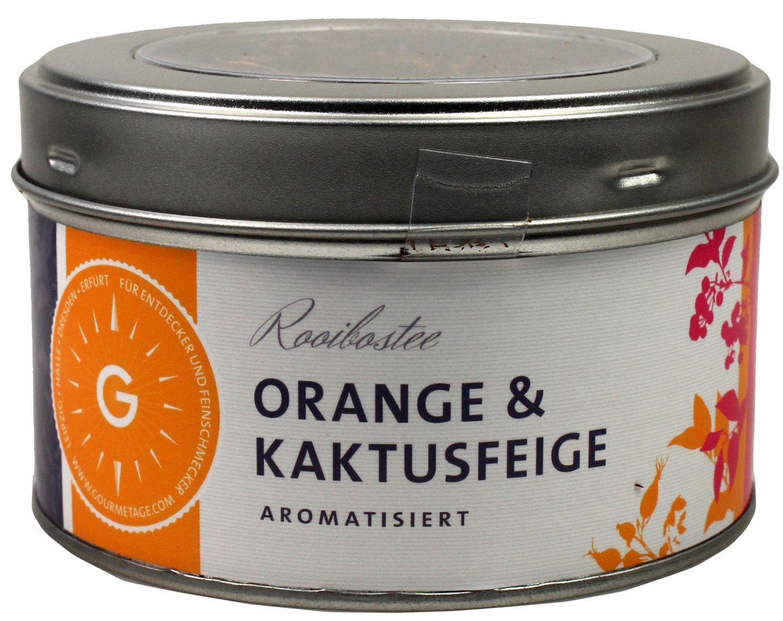 Orange & Kaktusfeige - aromatisierter Rooibostee 150g - Gourmetage Finest Selection