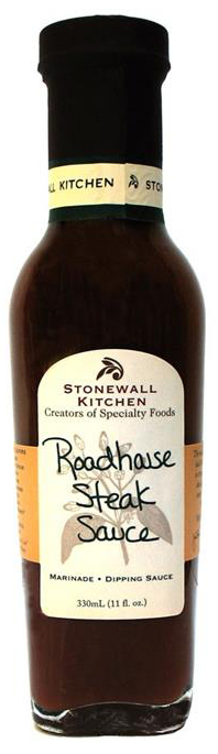 Roadhouse Steak Sauce - BBQ-Sauce 330ml - Stonewall Kitchen, USA