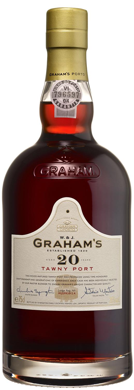 Grahams - 20 Jahre - Tawny Port - 20% Vol.  0,75 l