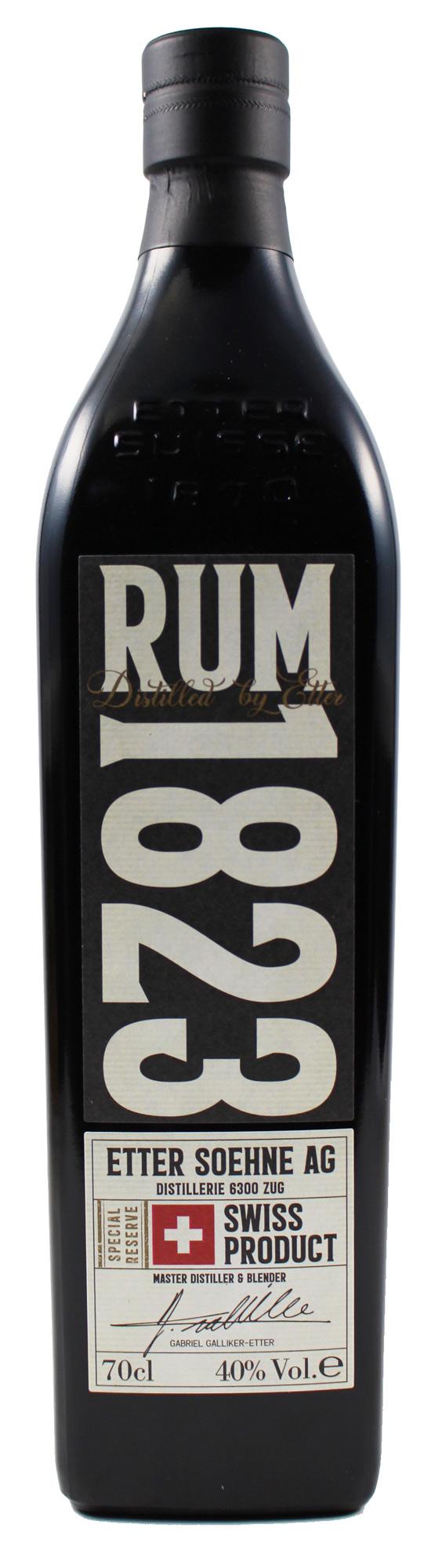 Etter Rum - Swiss Rum - 40% Vol.  0,70 l